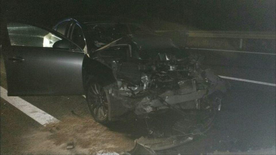Positif à l'alcool, un conducteur sort indemne d'un accident sur l'autoroute Tarbes Toulouse
