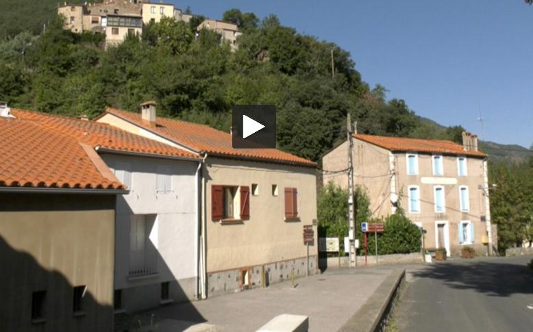 Pyrénées Orientales. construction d'une centrale hydroélectrique pour l'éclairage public