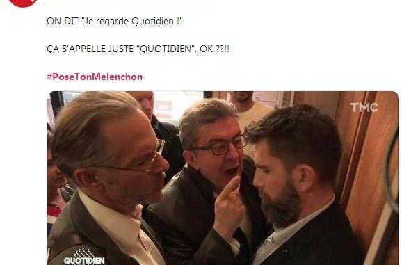#PoseTonMelenchon le mot clé qui se moque de Mélenchon (ou non)