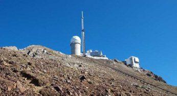 Aprs 108 jours, il a enfin gelé au Pic du Midi de Bigorre