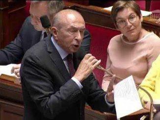 """Collomb Macron """"un numéro inédit de grand guignol et une débandade"""" dit Olivier Faure"""