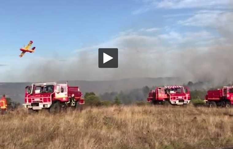 Entre Castres et Mazamet, le violent incendie de mardi a détruit 40 hectares
