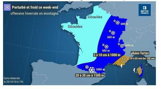 Froid, neige, offensive de l'hiver ce week end, y compris à Toulouse