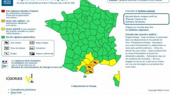 Haute Garonne et Tarn en alerte vent violent. Aude, Hérault et PO en alerte orange orages