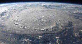 Impressionnant : l'ouragan Michael filmé depuis la station spatiale ISS
