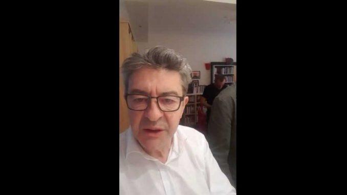 """Jean-Luc Mélenchon, """"l'épouvantail idéal"""" d'Emmanuel Macron"""