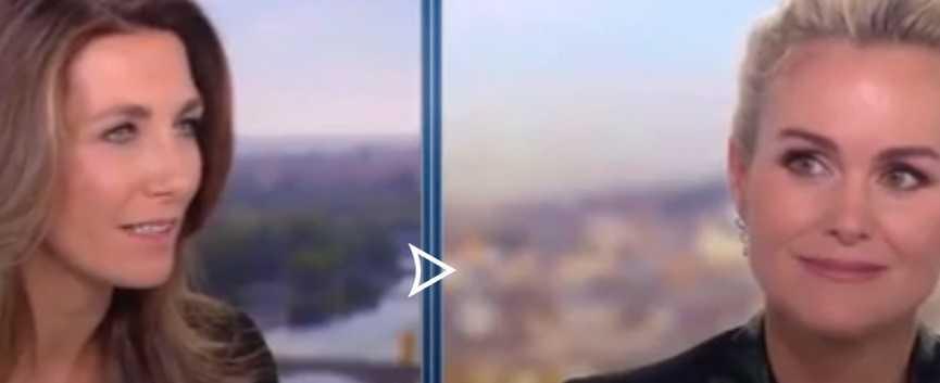 Læticia Hallyday sur TF1