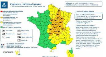 Neige Verglas. Tarn et Aveyron en alerte météo vigilance jaune