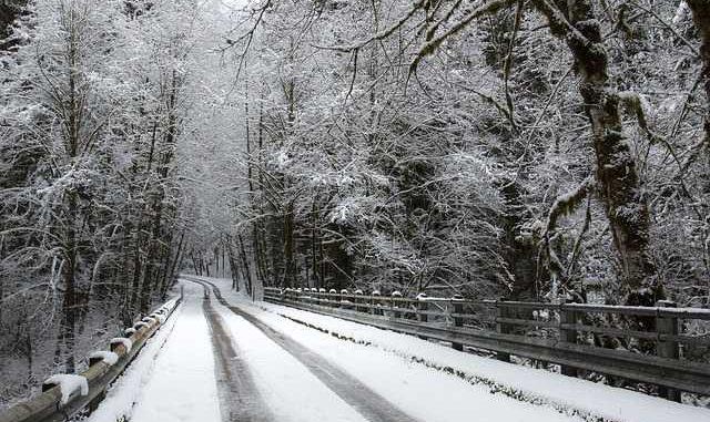 Neige. des difficultés sur les routes du Tarn