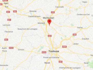 Percuté par 2 voitures, un homme décède à Labastide Saint Pierre au nord de Toulouse