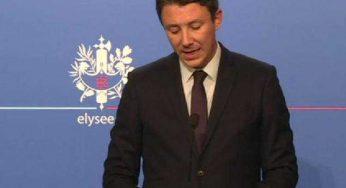 """Remaniement: Macron """"assume de prendre le temps"""" Griveaux"""