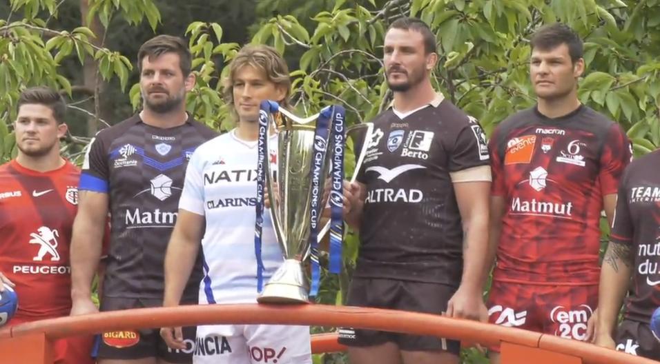 Rugby lancement de la saison de coupe d 39 europe toulouse - Retransmission coupe d europe de rugby ...