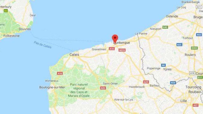 Vaste opération antiterroriste dans le Nord de la France à Grande Synthe