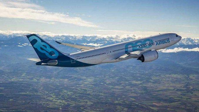 1er vol d'essai réussi à Toulouse pour l'Airbus A330-800