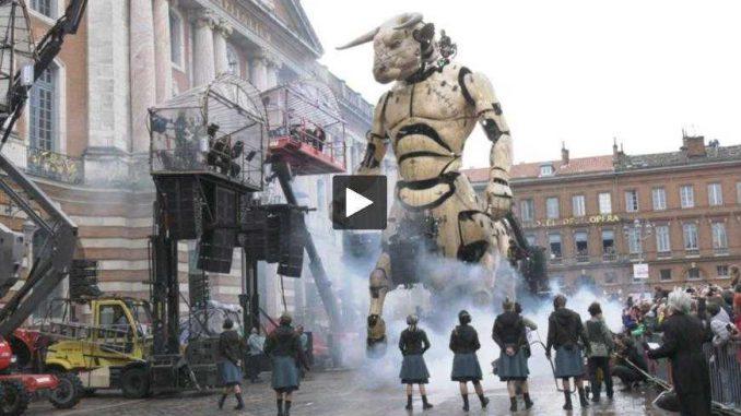 Le Minotaure a réuni des centaines de milliers de personnes à Toulouse