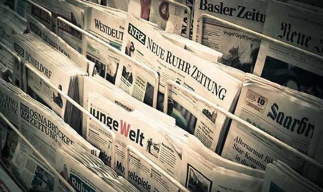 """Les """"gilets jaunes"""" à la Une de la presse étrangère"""