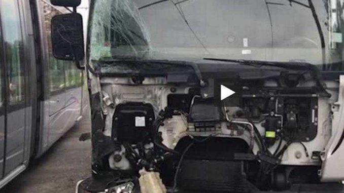 Toulouse, accident entre un camion et le tramway