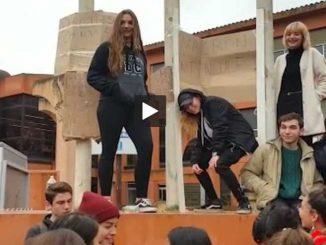 à Toulouse. manifestation des lycéens, transports très perturbés