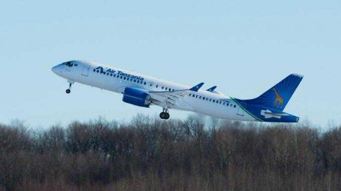 Air Tanzania reçoit son 1er Airbus A220