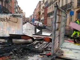 Barricades, destructions, affrontements retour sur la journée de samedi à Toulouse