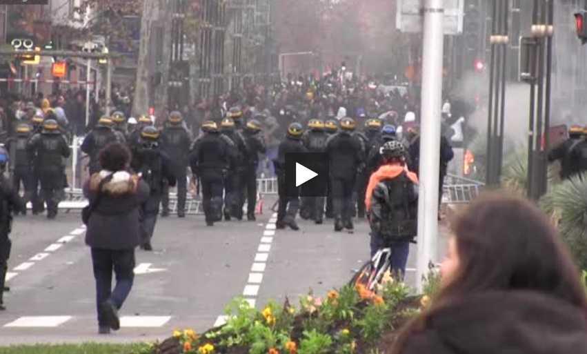 à Toulouse, des étudiants ont rejoint les lycéens dans les manifs