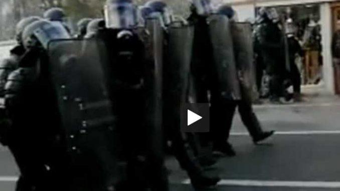 Creil importante mobilisation policière contre les lycéens