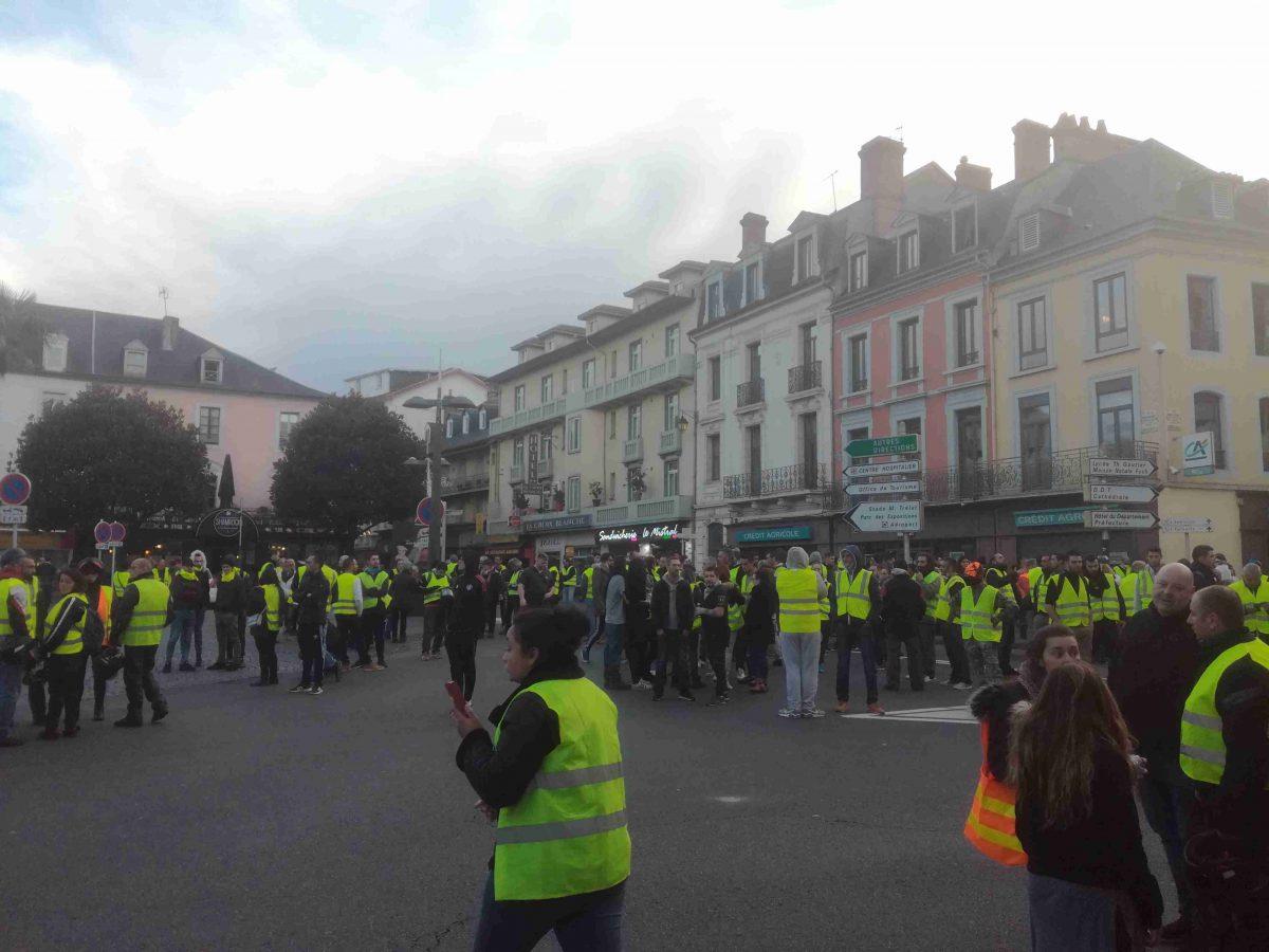 Gilets jaunes. Incidents violents à Toulouse et Tarbes