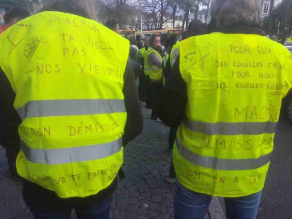 Importante mobilisation pour la manifestation des Gilets jaunes à Toulouse