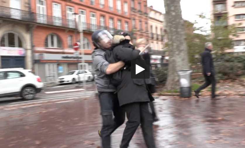 La manifestation des lycéens dégénère à Toulouse
