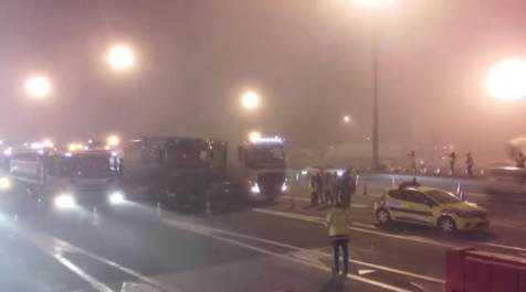 Le dépot de carburants de Lespinasse bloqué par les agriculteurs