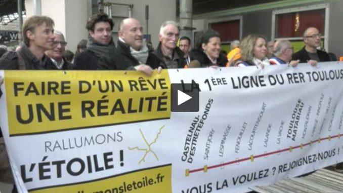 Un RER à Toulouse Une solution pour éviter les bouchons