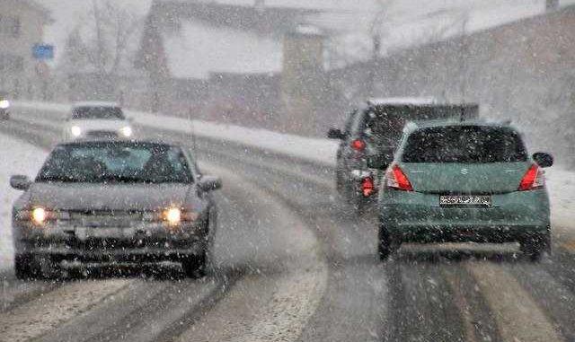 Abondantes chutes de neige sur Rodez