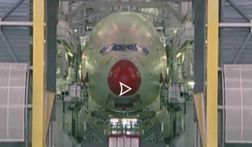 La construction d'un Airbus A380 en accéléré