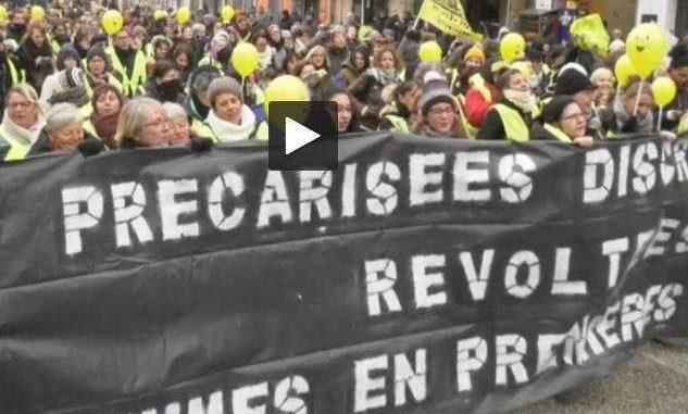 Les femmes Gilets Jaunes ont manifesté à Toulouse