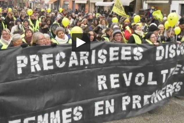 La manif des femmes Gilets Jaunes a fait le plein à Toulouse