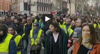 Manif à Toulouse, 28 arrestations, 1 blessé