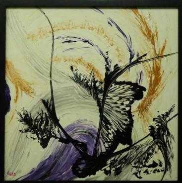 Seilh 31 Exposition d'art abstrait figuratif de l'artiste peintre féminine Vgas
