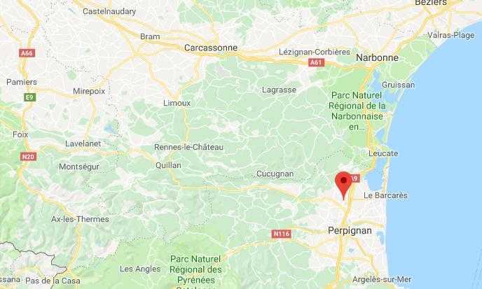 Un mort dans une collision entre un train et une voiture près de Perpignan