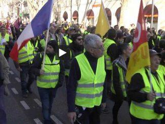 Gilets Jaunes - CGT La foule pour la manif à Toulouse