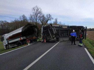 Impressionnant accident de la circulation au nord de Toulouse