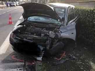 Saint Orens accident conductrice ivre