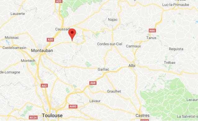 2 morts dans un accident de la route près de Caussade