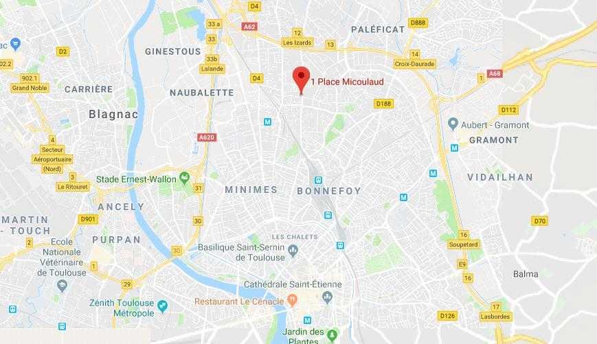 Fusillade à Toulouse, un homme grièvement blessé