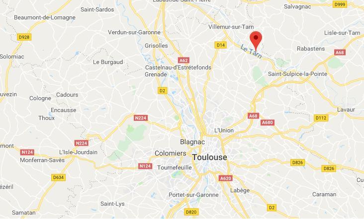 Intervention du GIGN pour neutraliser un homme armé ce matin au nord de Toulouse