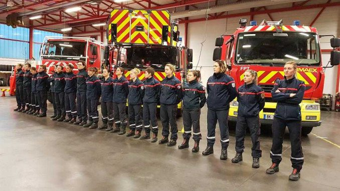 Pompiers feminines Carbonne,Salies-du-Salat