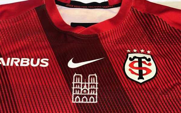 Face au Leinster, le Stade Toulousain portera un maillot hommage à Notre Dame de Paris