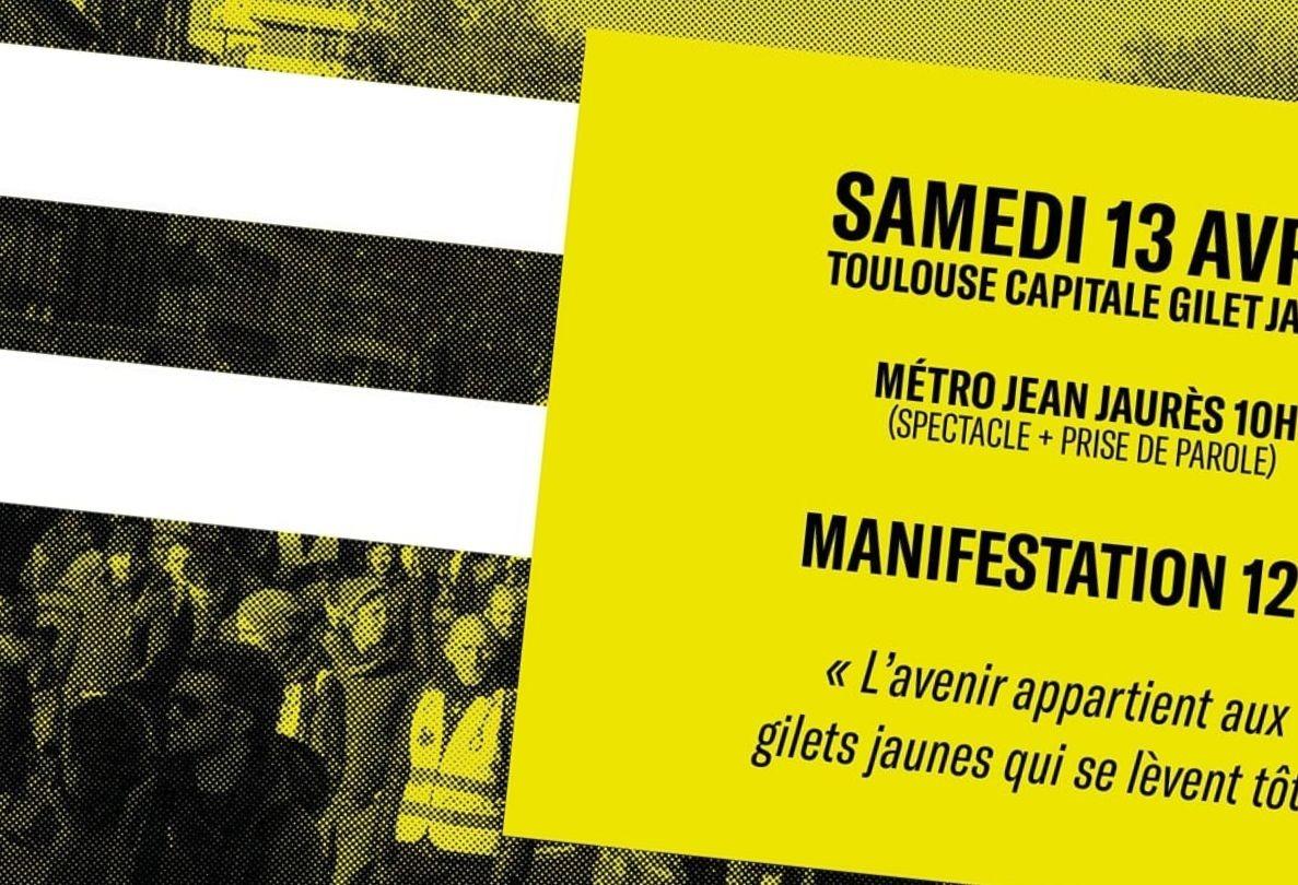 Toulouse capitale des Gilets Jaunes ce samedi (1)