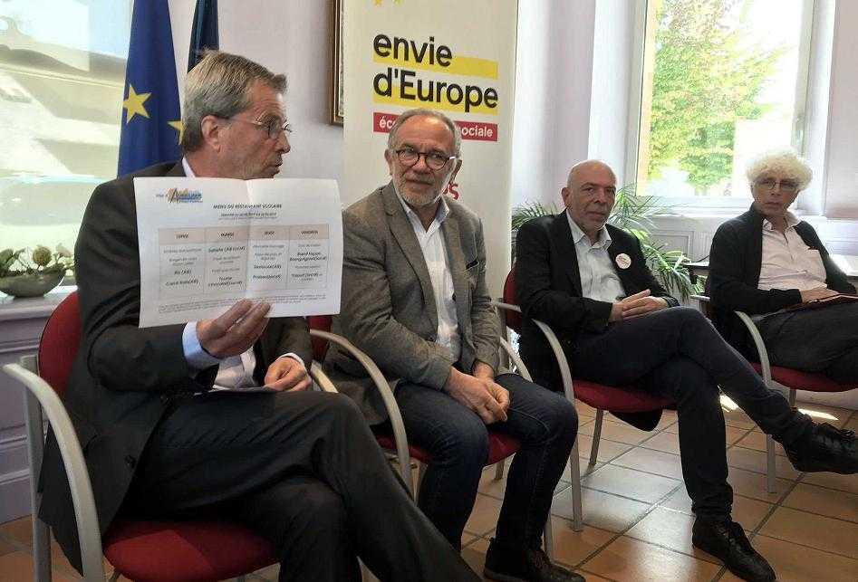 Dans les Hautes Pyrénées, puis à Auch Eric Andrieu plaide pour une Europe humanisteDans les Hautes Pyrénées, puis à Auch Eric Andrieu plaide pour une Europe humaniste