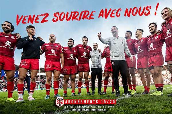 Le Stade Toulousain lance sa campagne d'abonnement pour la saison Top14 2019-2020 (1)