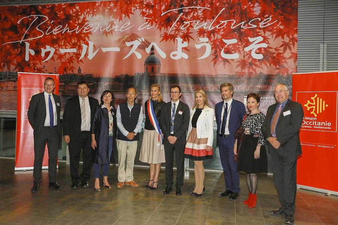 Les touristes japonais à la découverte de Toulouse et l'Occitanie